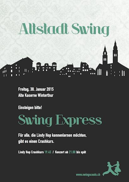 Fr 30.01.2015 # Altstadt Swing