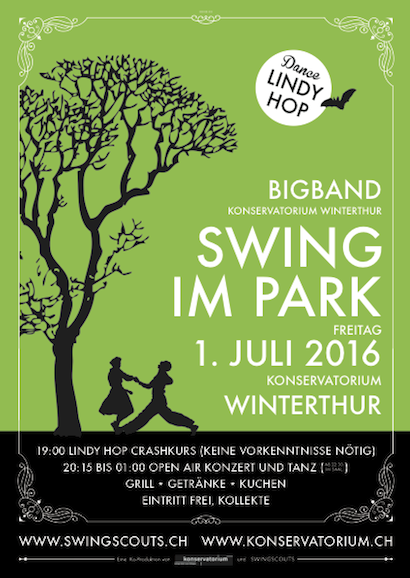 Fr 01.07.2016 # Swing im Park