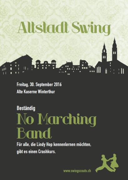Fr 30.09.2016 # Altstadt Swing