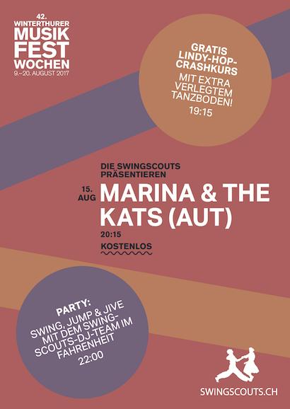 Di 15.08.2017 # Marina & the Kats @ Musikfestwochen