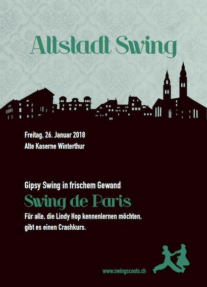 Fr 26.01.2018 # Altstadt Swing
