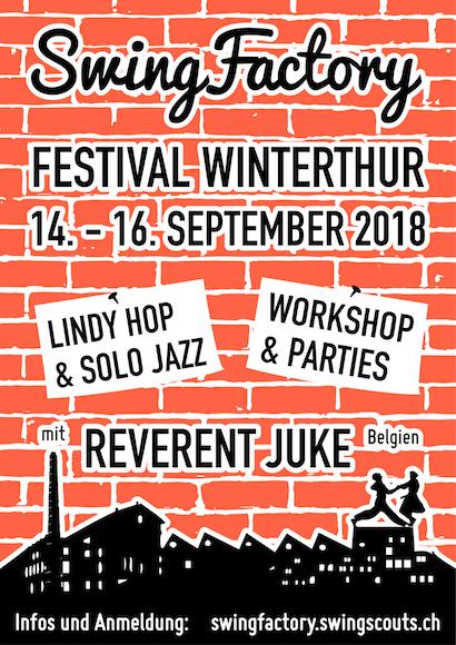 Swingfactory 2018 – Workshop Sonntag