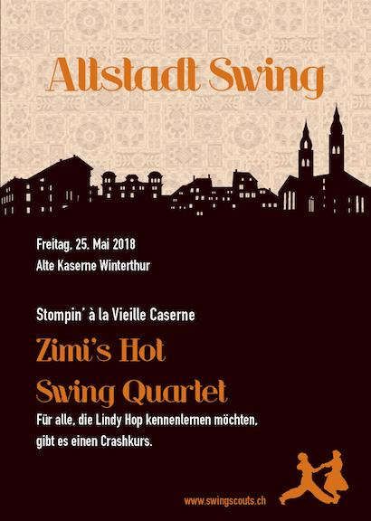 Fr 25.05.2018 # Altstadt Swing