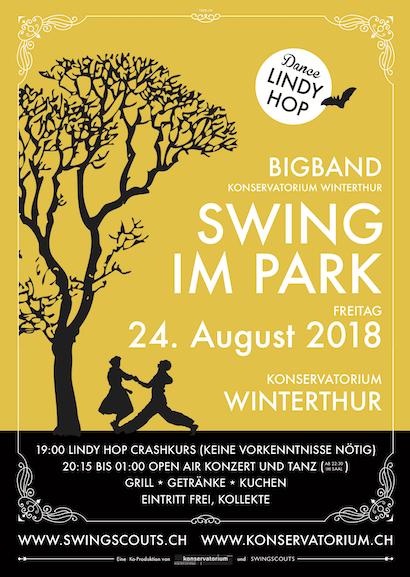 Fr 24.08.2018 # Swing im Park