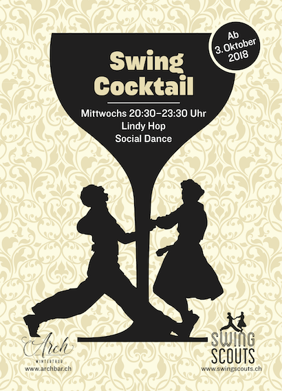 jeden Mittwoch bis 24.4.2019 # Swing Cocktail