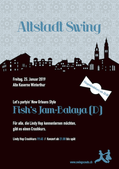 Fr 25.01.2019 # Altstadt Swing