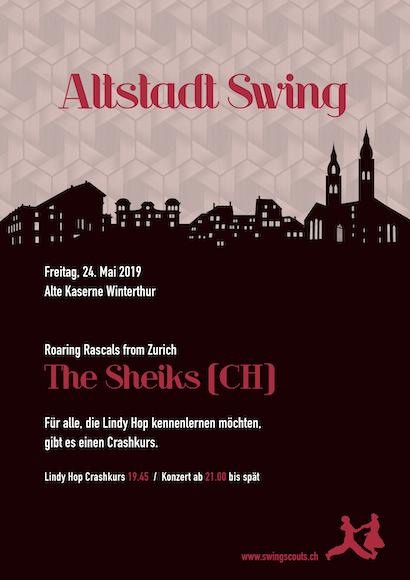Fr 24.05.2019 # Altstadt Swing