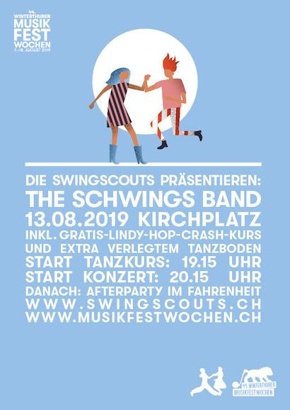 Di 13.08.2019 # The Schwings Band @ Musikfestwochen