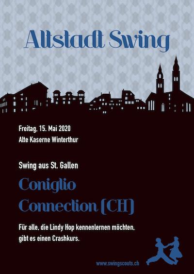 ABGESAGT: Fr, 15.05.2020 # Altstadtswing mit Coniglio Connection (CH)