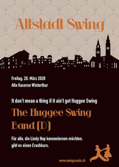 ABGESAGT: Fr, 20.03.2020 # Altstadtswing  mit The Huggee Swing Band