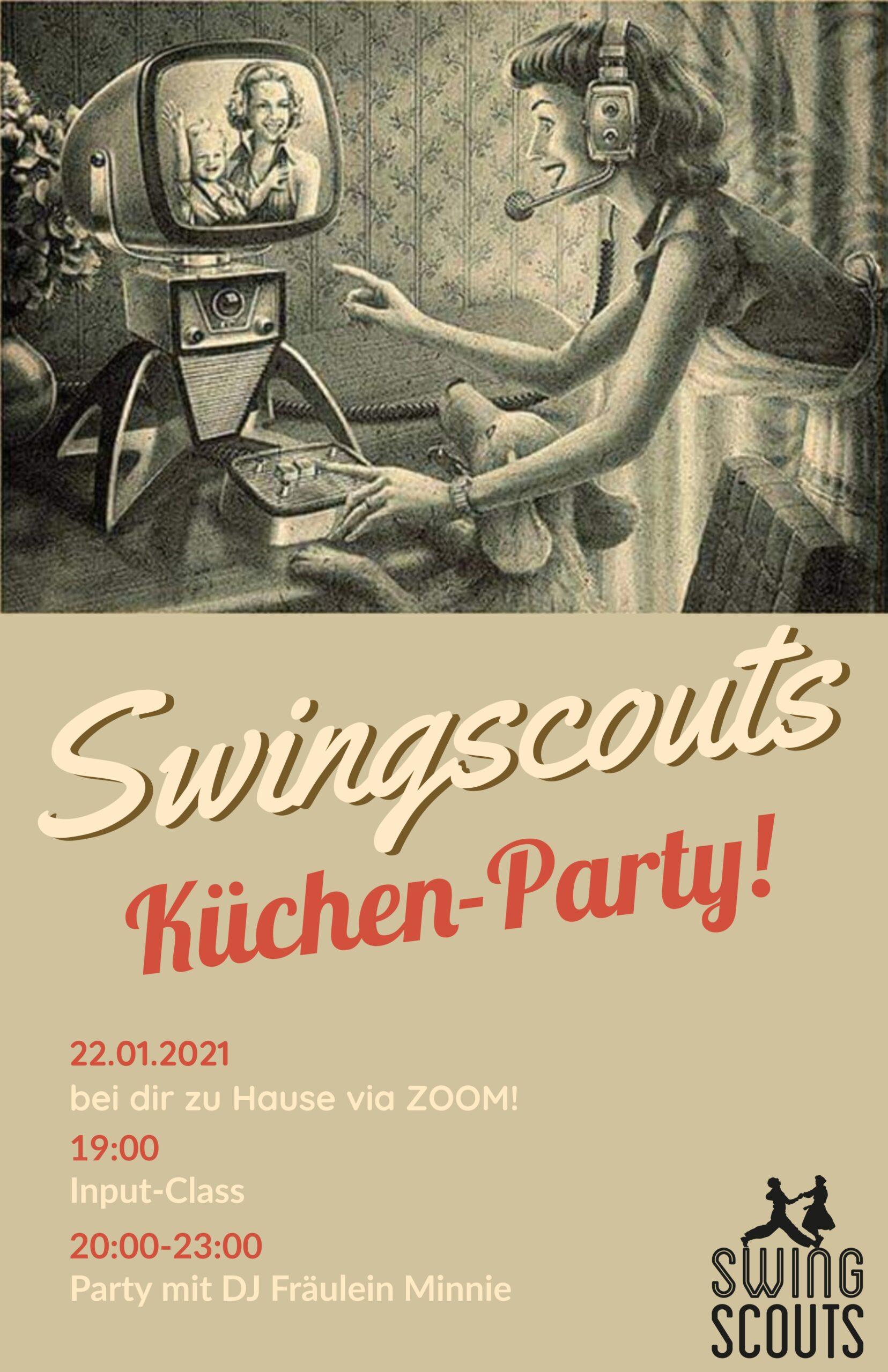 Fr 22.01.2021 Swingscouts-Küchen-Party