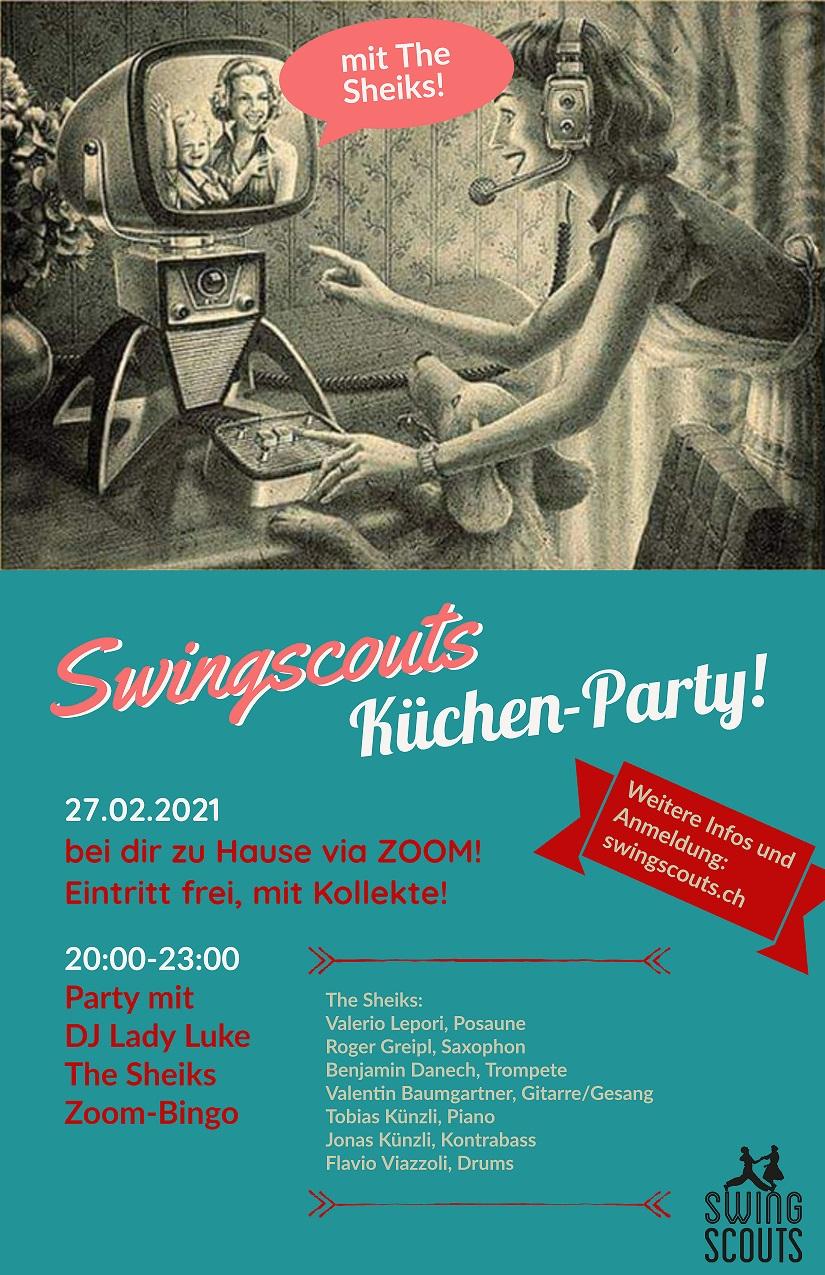 Sa 27.02.2021 Swingscouts-Küchen-Party